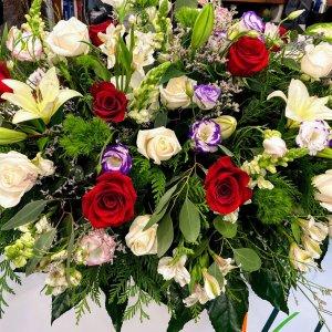 Centro flor variada Carmen