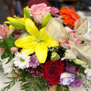 Centro de flor fresca Rea