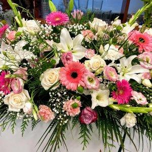 Centro flor variada Odín
