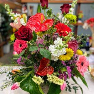 Centro flor variada Freyja