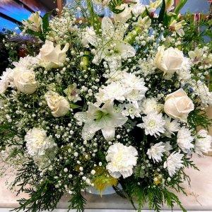 Centro flor variada Pan