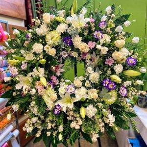 Corona flor lisiantus