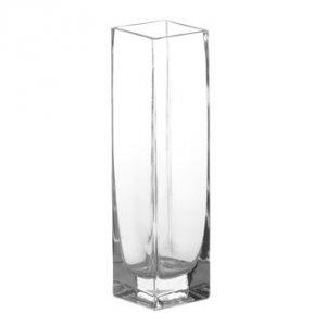 Jarrón cristal estrecho