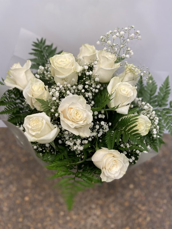 Ramo 12 rosas Alba