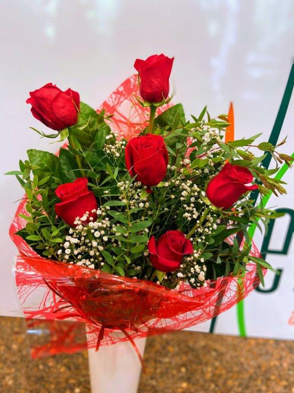 Ramo 6 rosas rojas Ráma