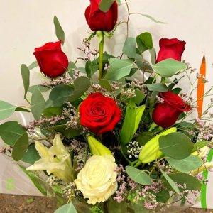 Ramo 7 rosas Goya