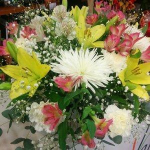 Ramo flor variada Plutón
