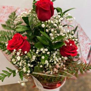 Ramo 3 rosas Ingrid